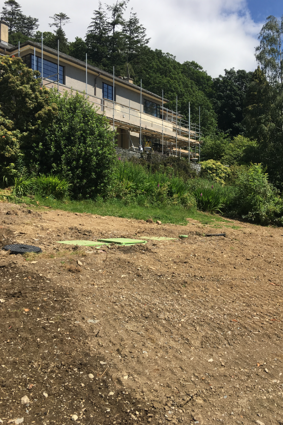 Sewage treatment plant in Cumbria