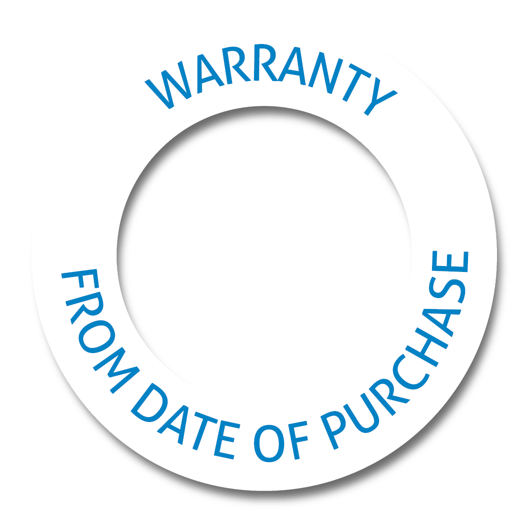 10 years warranty from the date of purchase
