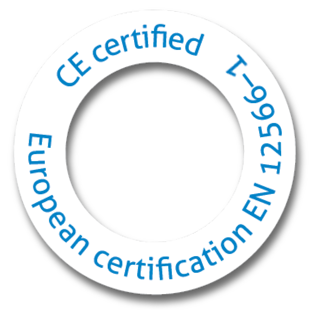 EU Certified to EN12566-1