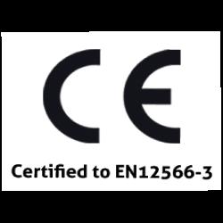 EN12566-3 Certified