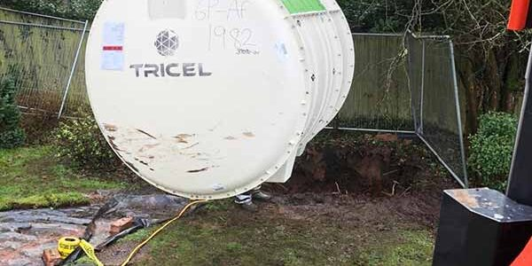 Sewage Treatment Plant installation in Cheshire - Novo