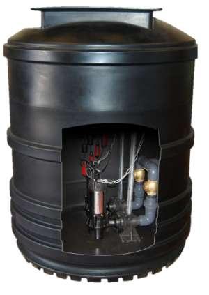 Tricel Twin Pump